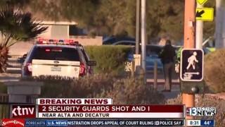 Двама охранители бяха убити в Лас Вегас