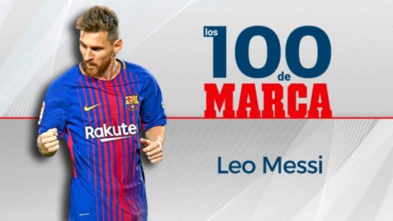 """Marca"" обяви Меси за №1 през 2017 година"