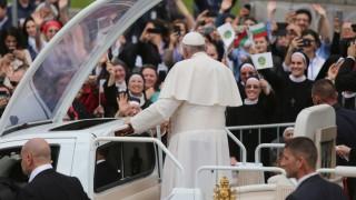 НСО благодари на българите за възпитанието им по време на визитата на папата