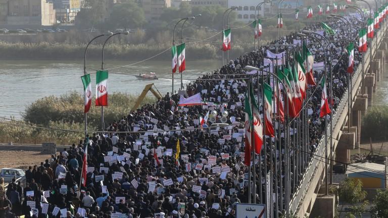 Началникът на Революционната гвардия на Иран обяви поражението на