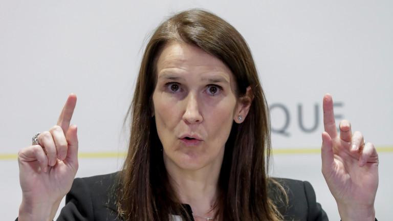 Министърът на външните работи на Белгия Софи Вилмес е в