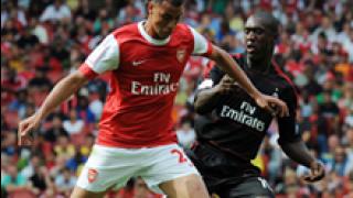 Чамак влезе в историята на Арсенал