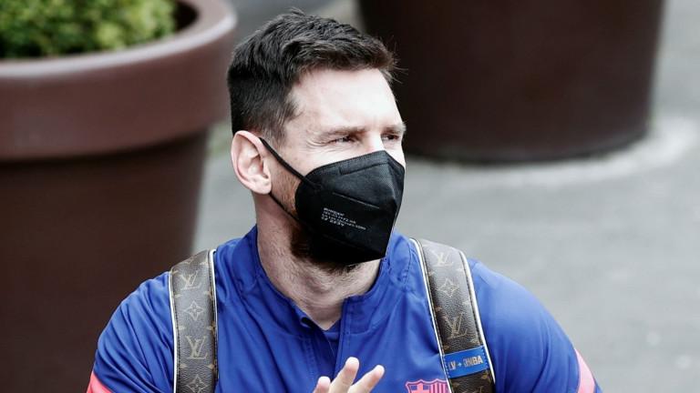 Лионел Меси вече е в Барселона