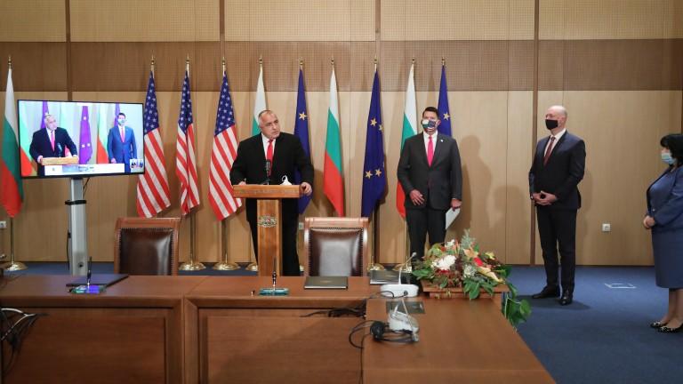 Подписахме ключови документи за 5G мрежите и ядрената енергия със САЩ