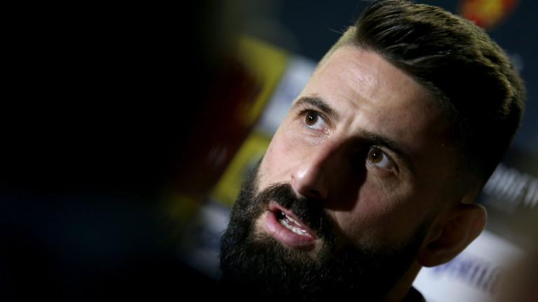 Димитър Илиев: Победата срещу Ботев за Купата е най-щастливият момент в кариерата ми