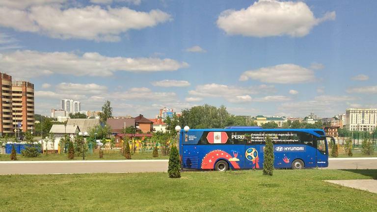 Футболистите на Перу доволни от атмосферните условия в Саранск, тръгват към стадиона