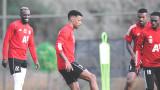 ЦСКА с първа тренировка на турска земя