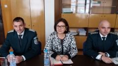 Бъчварова инспектира ГКПП-Калотина