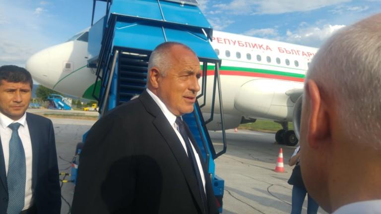 Министър-председателят Бойко Борисов пристигна в Сараево за участието си в