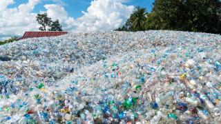 Как изглеждат 4 трилиона пластмасови бутилки