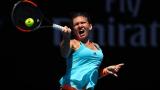 Симона Халеп се отказа и класира млада рускиня на полуфинал