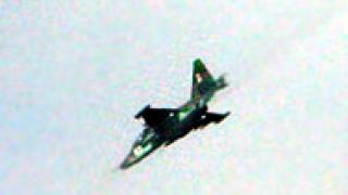 Руският Су-25 е бил свален от ракета