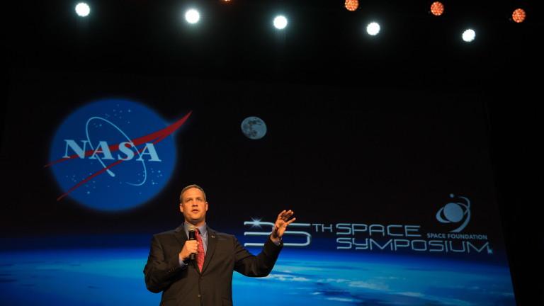 Директорът на НАСА Джим Брайдънстайн заяви, че предложението напрезидента на