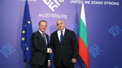 Западните Балкани очакват да ускорим процеса на евроинтеграция, подчерта Борисов пред Туск