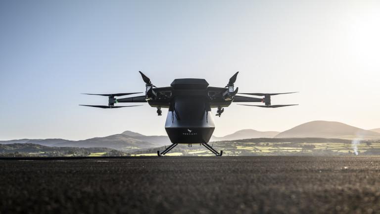 Въздушните таксита може да са факт скоро. Стартъпът Vertical Aerospace разработва прототип