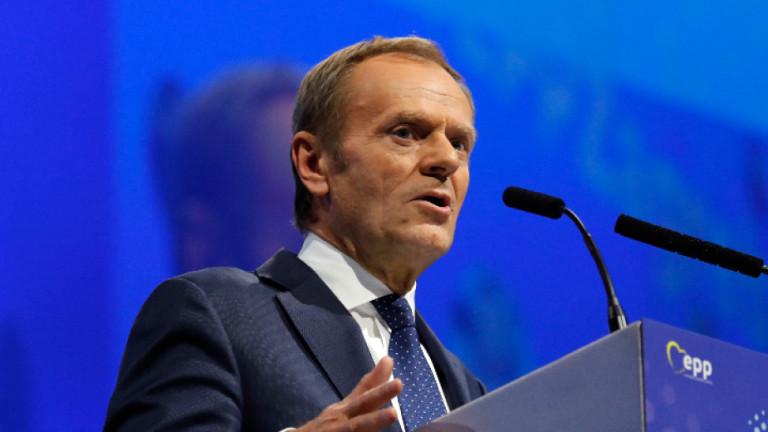 Полякът Доналд Туск беше избран почти с пълно единодушие за