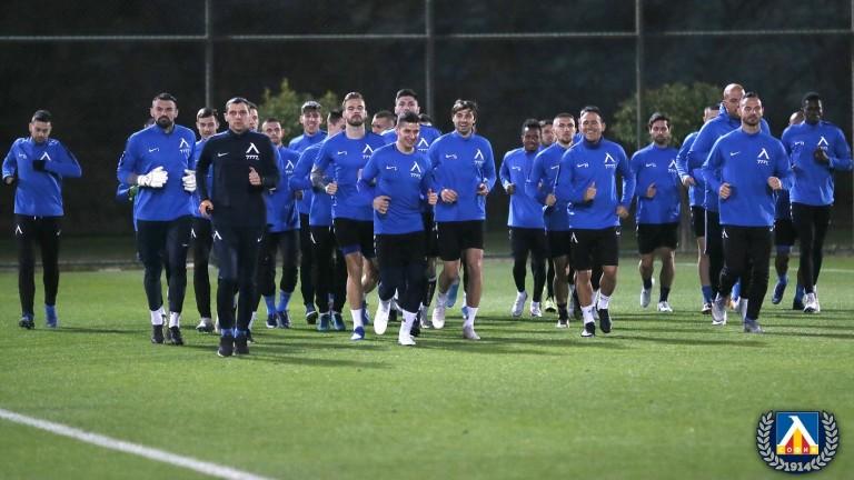 Хубчев закри днешните две тренировки на Левски