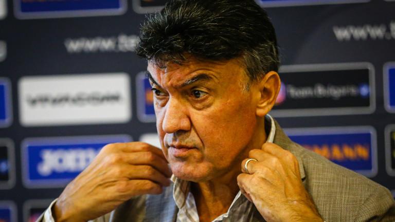Борислав Михайлов взе участие в работна среща на УЕФА