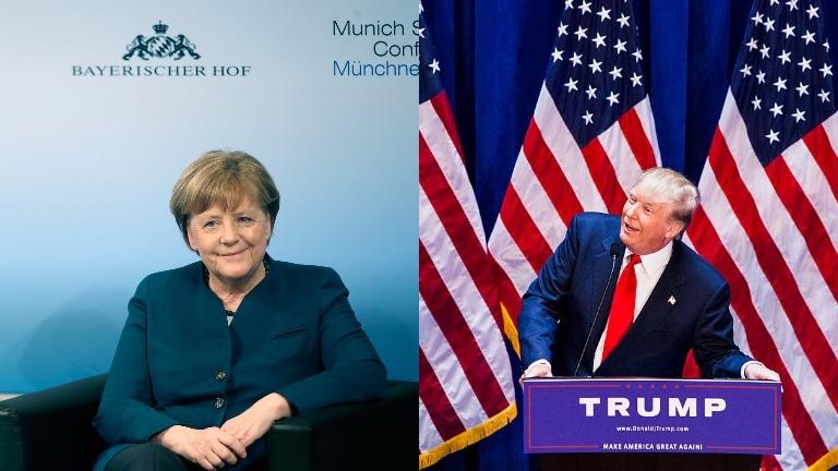 Какво да очакваме от днешната първа среща между Тръмп и Меркел?