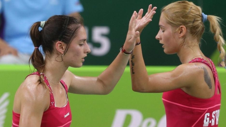 Габриела и Стефани Стоеви останаха втори на турнира в Базел