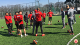 ЦСКА тренира двуразово едва с 11 футболисти