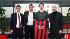 Официално: Марио Манджукич е футболист на Милан
