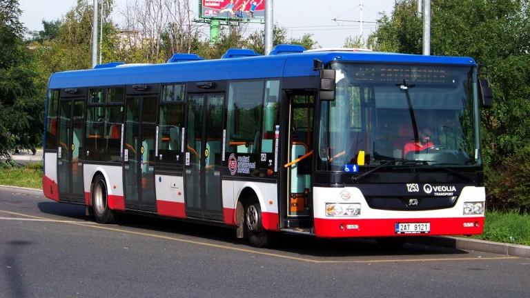 Снимка: Нови автобуси на природен газ тръгват в Габрово от май догодина
