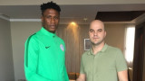 Нов играч на Локо (Пловдив) се прибра в Нигерия