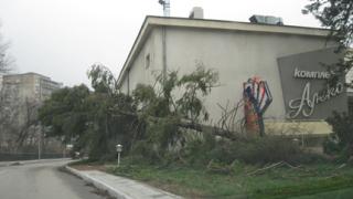 Потенциално опасно метеорологично време заради силен вятър