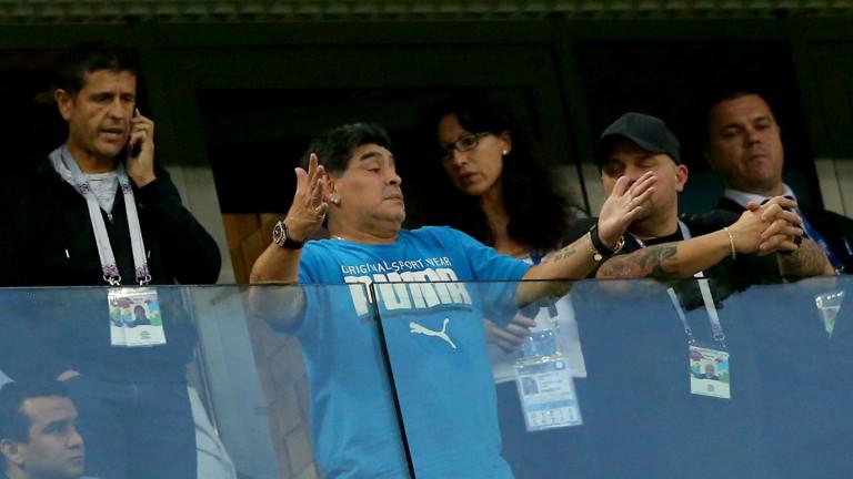 Диего Марадона: Не гледайте биографичния ми филм!