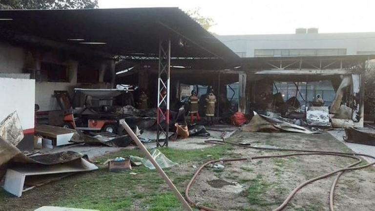 Пожар в тренировъчната база на най-популярния бразилски футболен клуб
