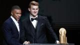 Матайс де Лихт бе отличен за най-добър млад футболист