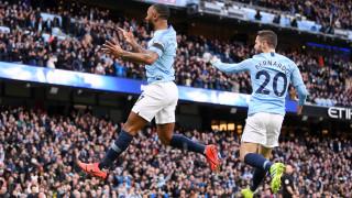 Манчестър Сити - Челси 6:0 (Развой на срещата по минути)