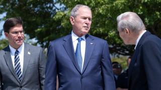 Стотици от администрацията на републиканеца Буш подкрепят демократа Байдън срещу Тръмп