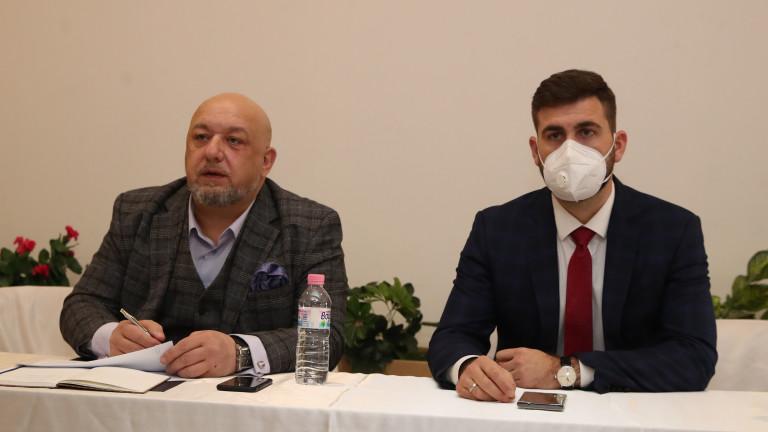 Министърът на младежта и спорта Красен Кралев проведе срещи със