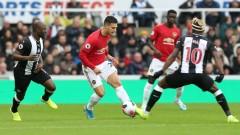 Нюкасъл нанесе трето поражение на Манчестър Юнайтед във Висшата лига