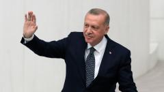 Залезът на султан Ердоган