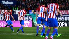 Атлетико (Мадрид) пробва да задълбочи кризата в Барселона
