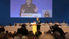 Меркел за осми път избрана за лидер на християндемократите