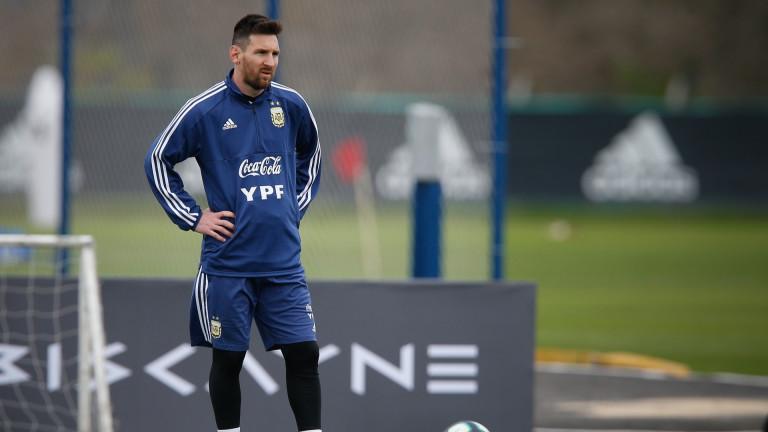 Аржентина победи с 5:0 Нюелс Олд Бойс в неофициален приятелски