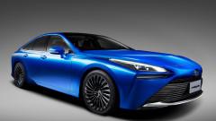 Вълнуващ и еко: Toyota показа новия си водороден седан