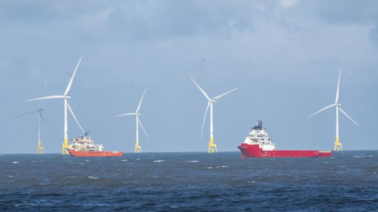 """Дания напредва с """"енергийния остров"""" в Северно море"""