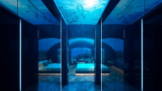 Така изглежда първият хотел под вода