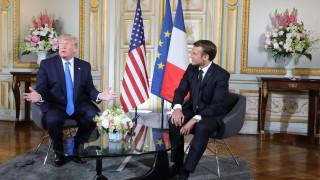 Тръмп и Макрон нямат разногласия за Иран