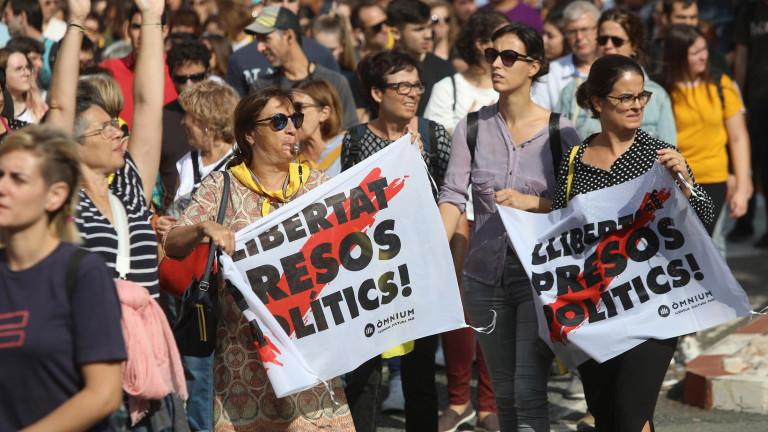Протести в Каталуния след решението на Върховния съд, пише испанският