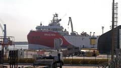 Турция изтегли сондажния кораб от спорните води в Източното Средиземноморие