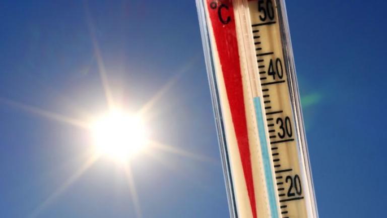 Снимка: Жега! 38 градуса в Сандански