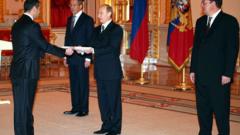 Посланикът на България в Русия връчи акредитивните си писма на Путин