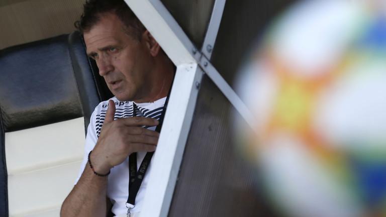 Бруно Акрапович отпрати сръбски защитник