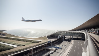 Летището в Пекин скоро ще е най-голямото в света